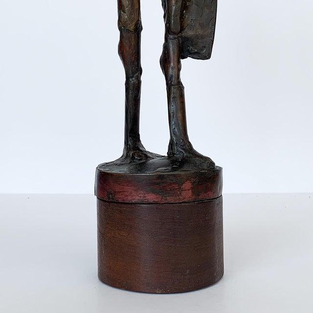 Carole Harrison Figurative Matador Sculpture For Sale - Image 10 of 13
