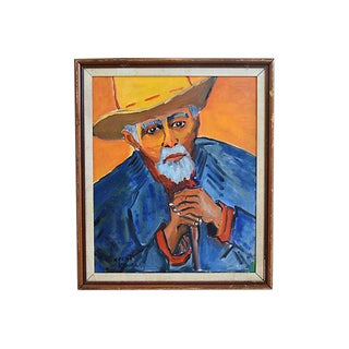 Patience Escalier Van Gogh-Style Oil Painting