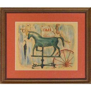 """Horse Weathervane"" For Sale"