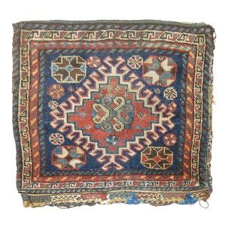 19th Century Textile Bagface Rug, 1'6'' x 1'11''