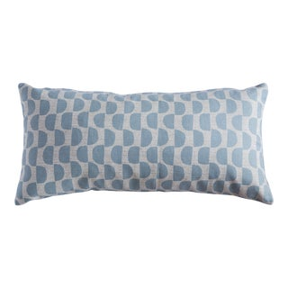 Half Moon Patterned Lumbar Pillow For Sale