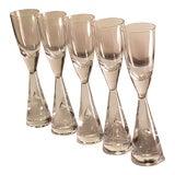 Image of Mid Century Modern Danish Holmegaard Princess Shot Cordial Glass-Set Of 5 For Sale