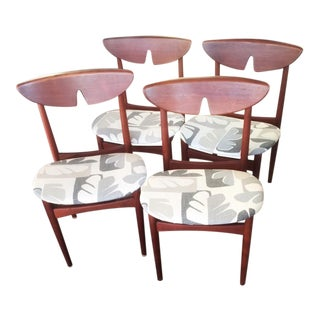 Mid Century Modern Kurt Ostervig Dining Chairs- Set of 4 For Sale