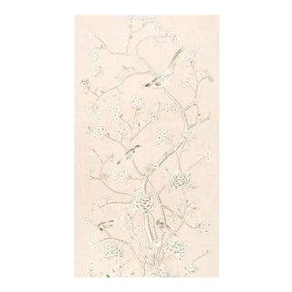 Schumacher Mary McDonald Linen Fabric Chinois Palais For Sale