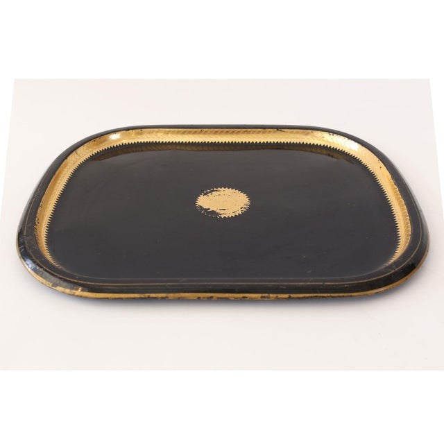 Metal Italian Tole Tray For Sale - Image 7 of 10