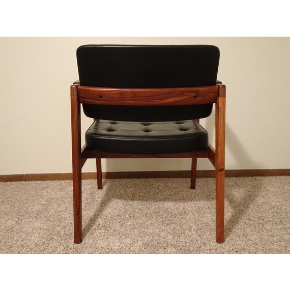 1960s Mid Century Danish Modern Svegards Markaryd Arm Chair For Sale - Image 5 of 11