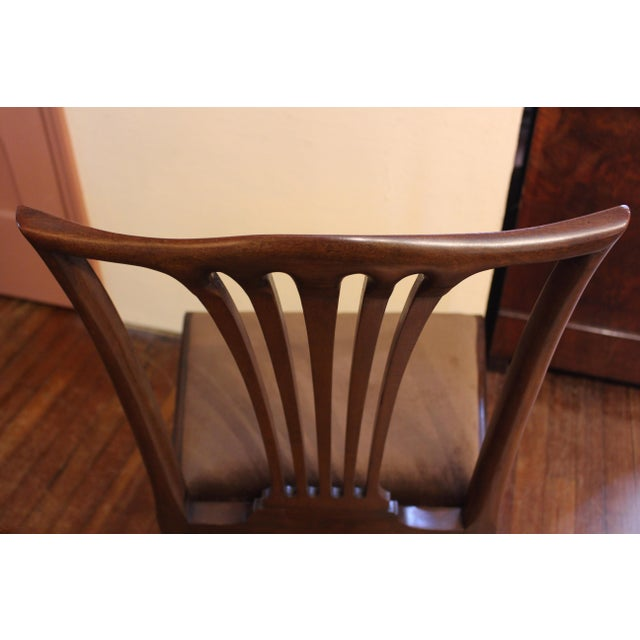 Dining Chippendale Style Chairs - Set of 8 For Sale In Raleigh - Image 6 of 10