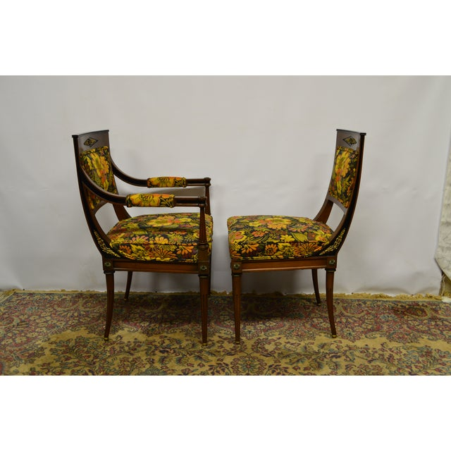 French French Regency Rosewood Dining Chairs - Set of 6 For Sale - Image 3 of 6