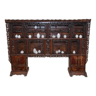 Rare Buddha Cabinet Tibet Approximately 200+ Years Old For Sale