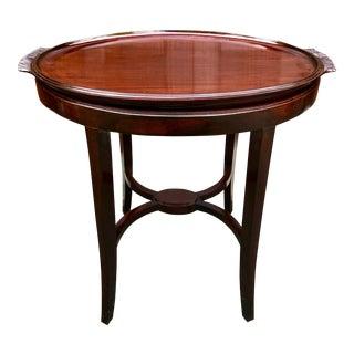 19th Century Georgian Style Mahogany Tray Table For Sale
