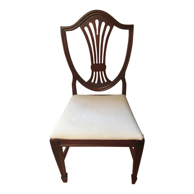 Early 20th Century Hepplewhite Chair For Sale