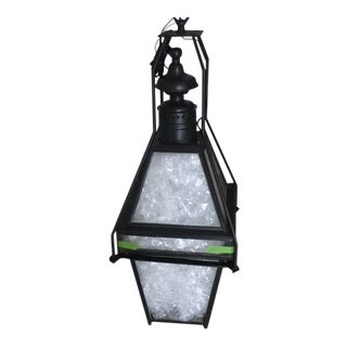 Antique Boston Street Lantern by Nathaniel Tufts For Sale