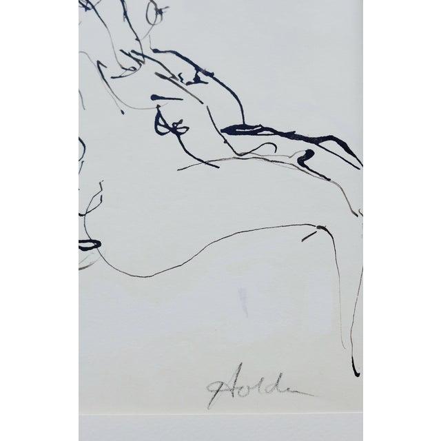 Femme Enceinte Original Drawing - Image 4 of 4