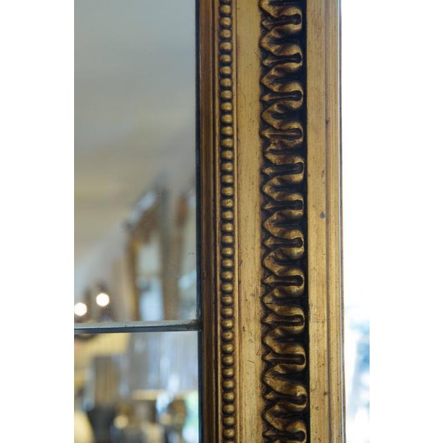 Mid 19th Century 19th Century Giltwood Palace Mirror For Sale - Image 5 of 7