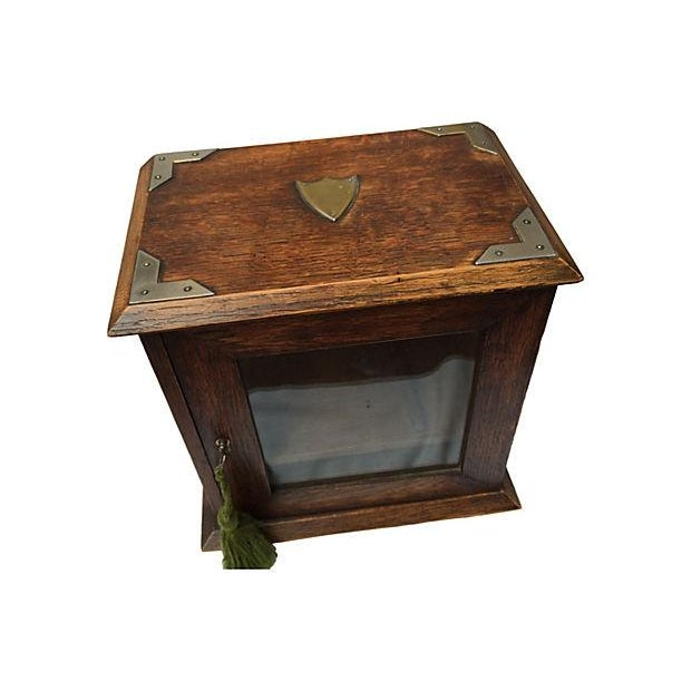 Antique English Display Cabinet - Image 5 of 7