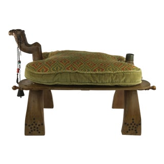 Egyptian Camel Saddle Stool Footrest For Sale