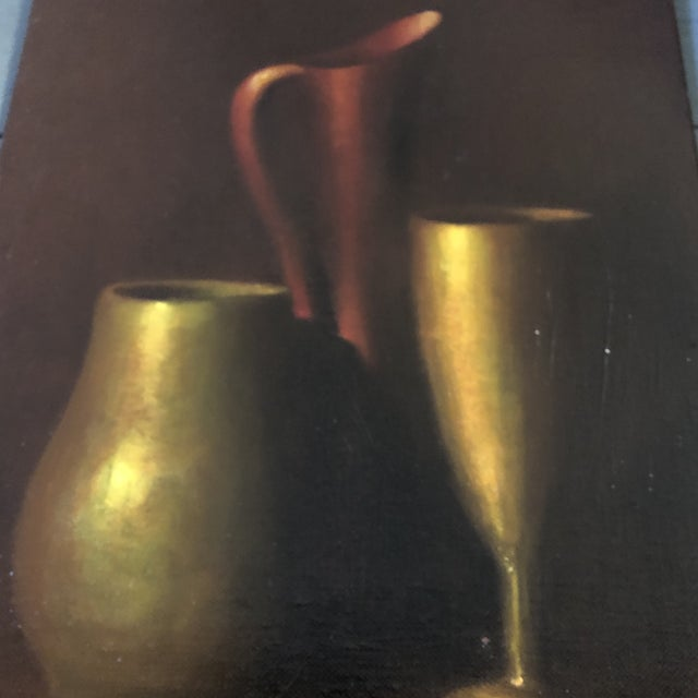 Gallery Wall Collection 3 Original Vintage Classic Still Life Paintings For Sale - Image 9 of 10