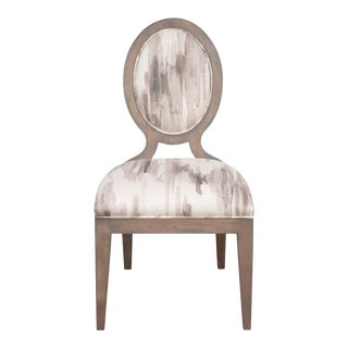 Parisienne Side Chair in Gray For Sale