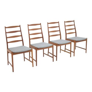 Torbjørn Afdal Teak Dining Chairs by Vamo, Denmark, 1960s For Sale