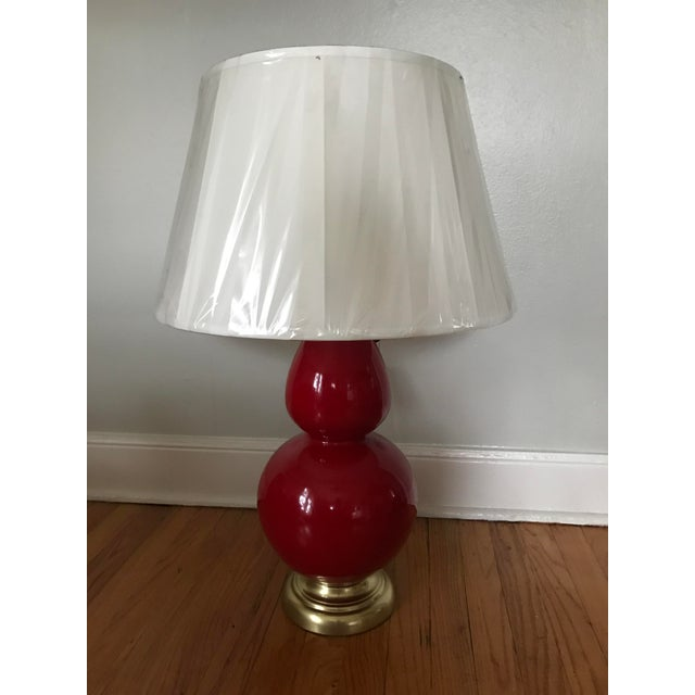 Robert Abbey Double Gourd Red Lamp - Image 2 of 4