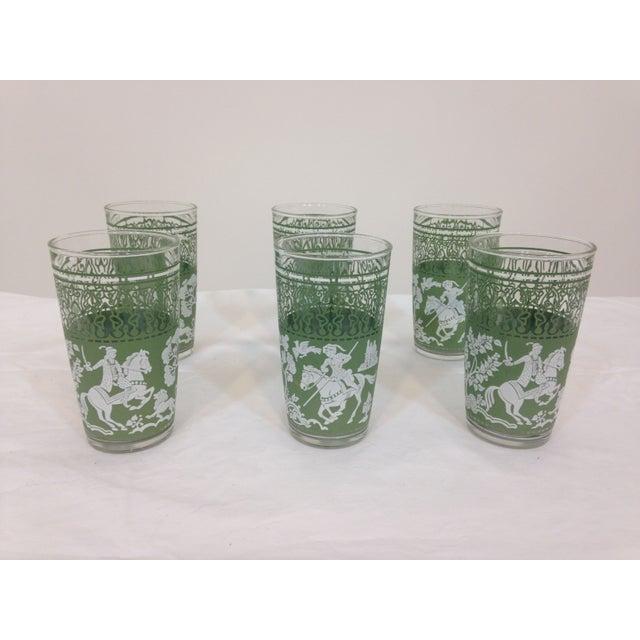 Jasperware Style Highball Glasses - Set of 6 - Image 2 of 4