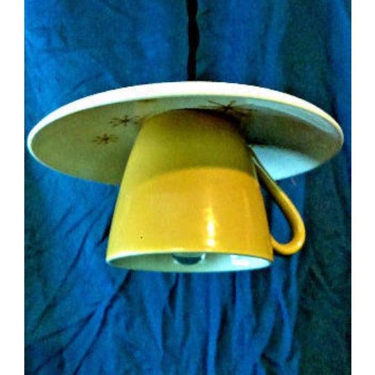 Star Glow 'Atomic' Tea Cup & Saucer Pendant Light - Image 3 of 3