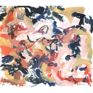 Roil Redux Sketch III by Heidi Lanino For Sale