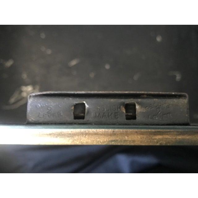 Large English Metal Strong Box - Image 7 of 11