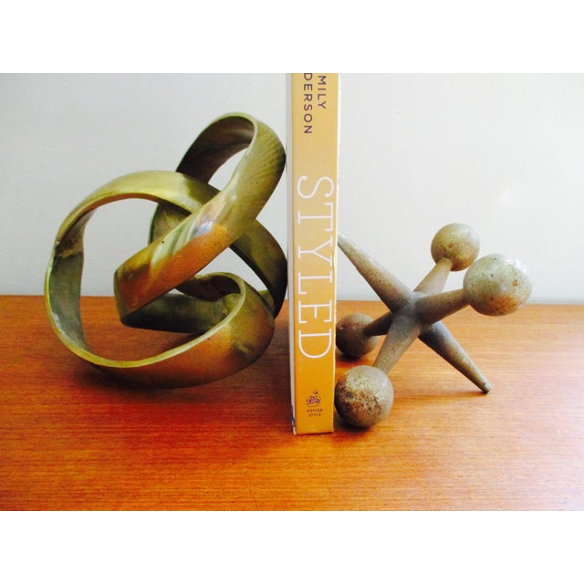 Modernist Abstract Free Form Sculpture or Bookend - Image 6 of 10