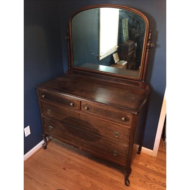 Vintage Dresser with Mirror - Image 2 of 4