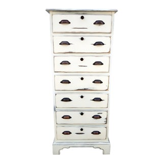 Drexel French Country Shabby Style Lingerie Dresser For Sale
