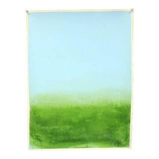 """""""Blue and Green"""", Original Painting by Filippo Ioco For Sale"""