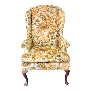 Vintage Conover Wingback Chair For Sale