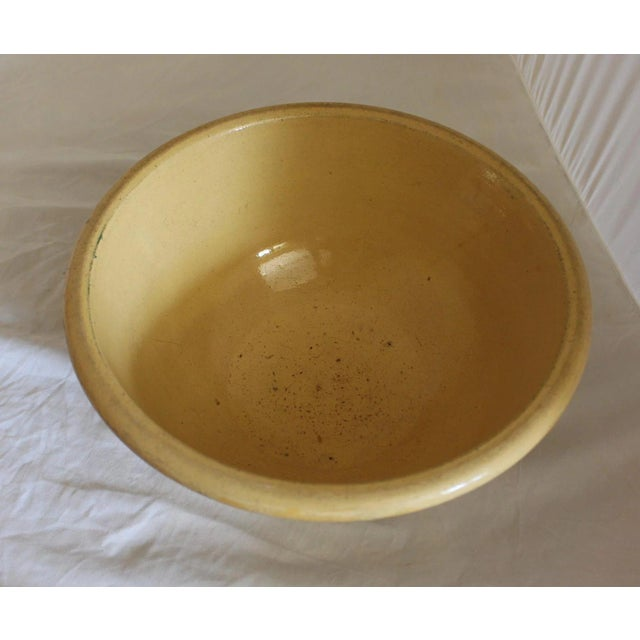 Traditional Vintage Ceramic Mixing Bowl For Sale - Image 3 of 6