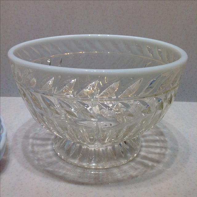Fenton French Opalescent Glass Bowls - Set of 3 - Image 6 of 7