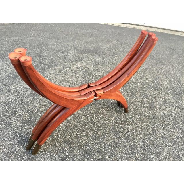 Mid-Century Modern Teak Spider Leg Table For Sale - Image 4 of 9