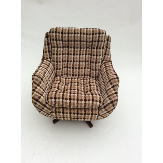 Parker Knoll Swivel Chair - Image 3 of 9