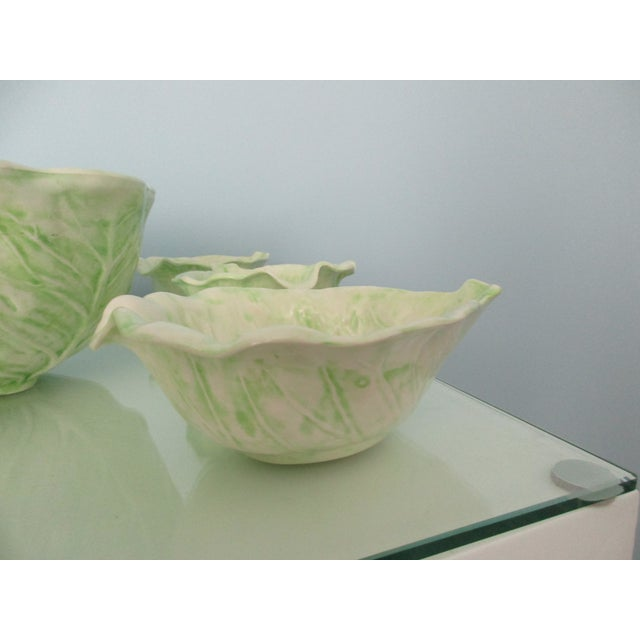 1970s Cabbage Ware - Set of 7 For Sale - Image 10 of 12