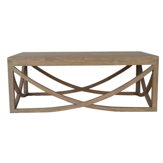Mango Wood Coffee Table For Sale