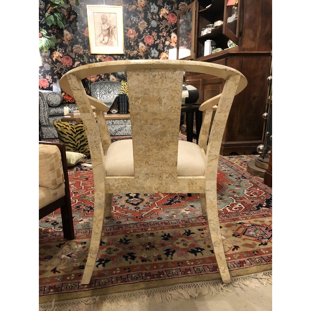 1960s Vintage Stone Chair For Sale - Image 5 of 6