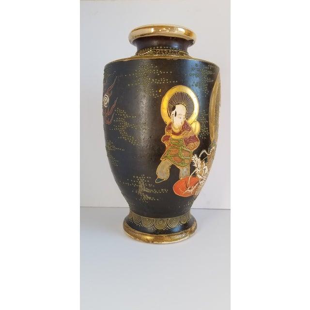 Early 20th Century Satsuma Century Japanese Vase For Sale - Image 4 of 13
