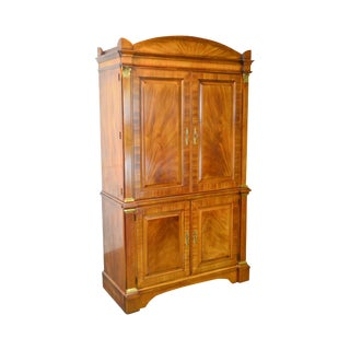 Henredon Natchez Collection Large Mahogany Regency French Empire Armoire