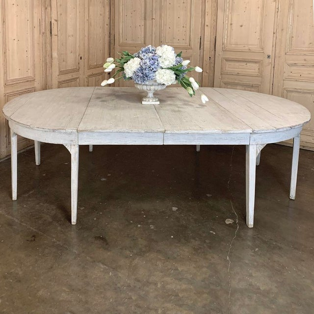 Banquet Table, Painted, Early 19th Century Swedish Gustavian Period For Sale - Image 12 of 13
