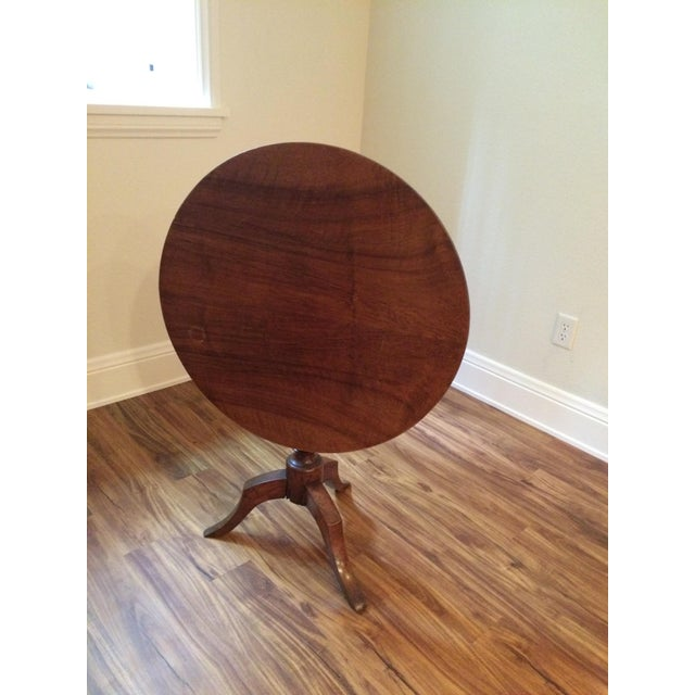 Antique Tilt Top Table, France - Image 2 of 6