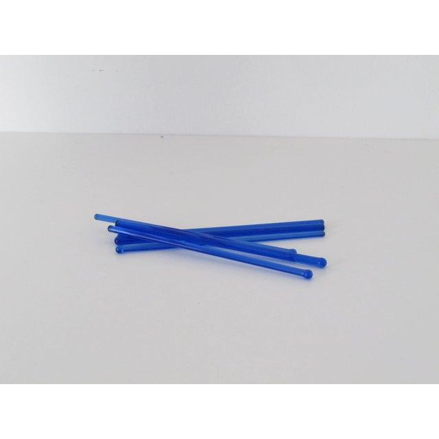 Cobalt Glass Drink Stirrers - Set of 6 - Image 2 of 3