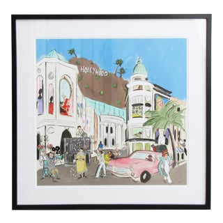 Tug Rice Cities Collection: Los Angeles Drawing For Sale
