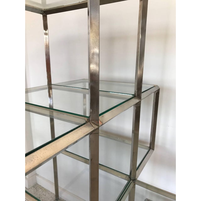 1960s Modern Chrome Etagere For Sale In Tampa - Image 6 of 11