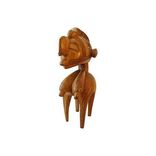 Wood Vintage African Baga Nimba Kingwood Sculpture For Sale - Image 7 of 7