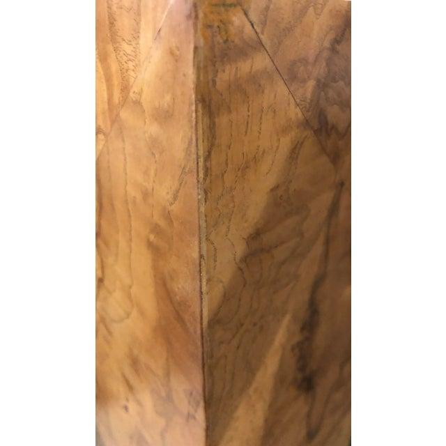 Brown Monumental Milo Baughman Burlwood Coffee Table For Sale - Image 8 of 10