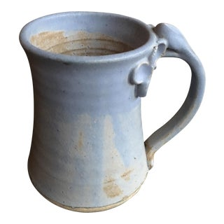 Hand-Thrown Large Ceramic Mug by Artist Kate McGee For Sale